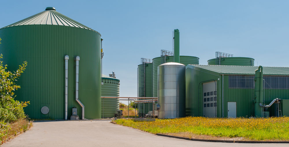 Biogáz telep