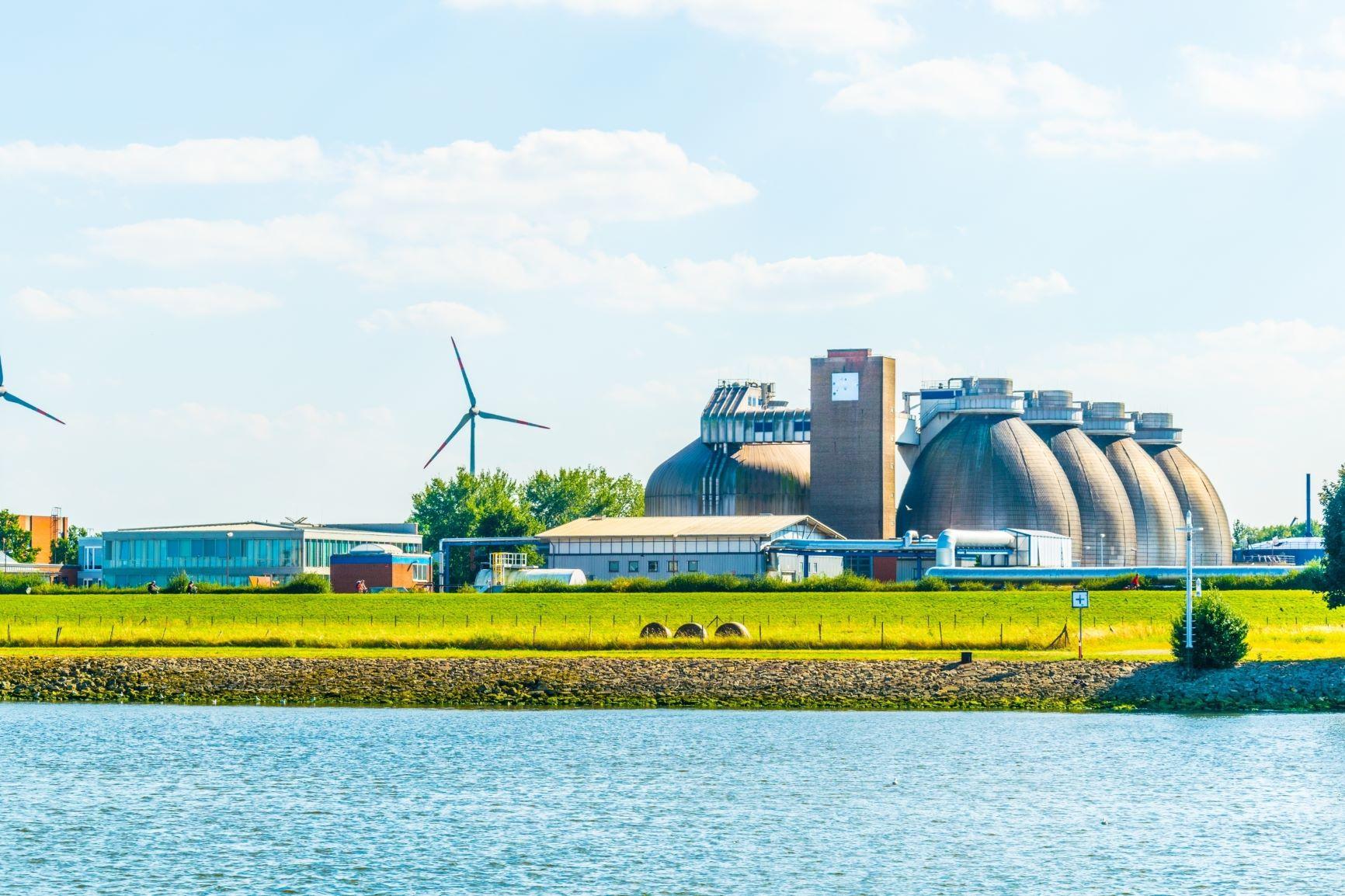 Biogáz üzem Brémában